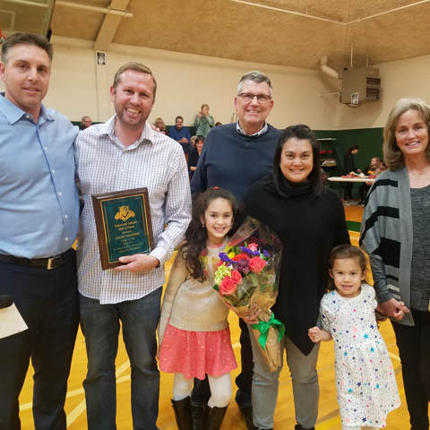 Court Gardner '96 Inducted to 2018 Athletic Hall of Fame