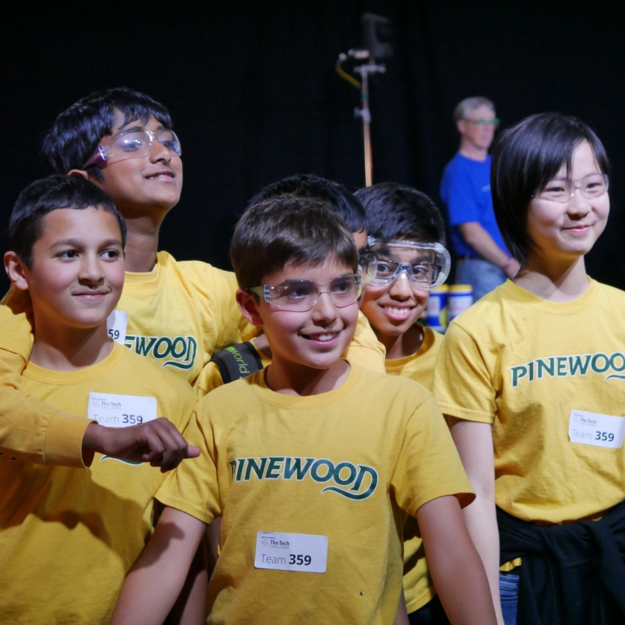 Pinewood Rises to The Tech Challenge