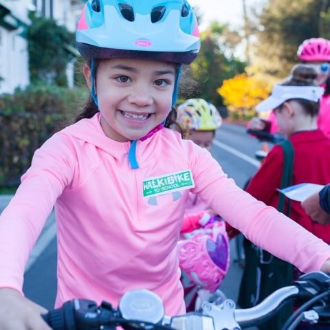Walk + Bike to School Day
